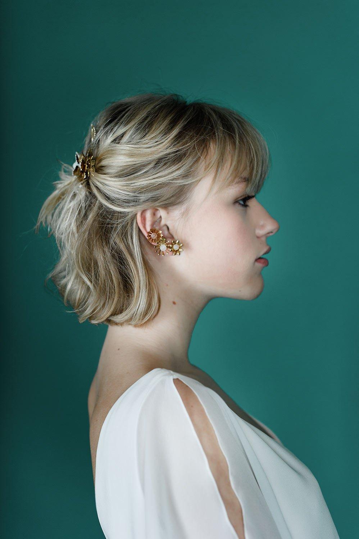 createur bijoux mariage accessoires ear cuff mariee