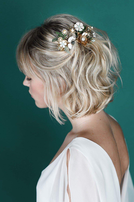 createur bijoux mariage accessoires cheveux mariee peigne